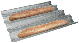 Backform für 4 Baguettes