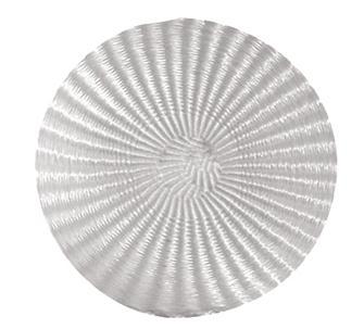 Runde Pressmatte ohne Loch 50 cm