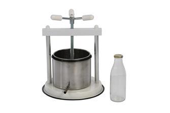 Schneckenpresse 5 Liter Edelstahl