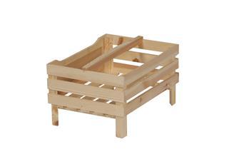 Stapelbare Box mit Schreibtafel