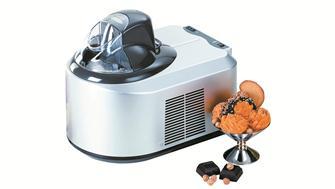 Eismaschine mit integriertem Kompressor