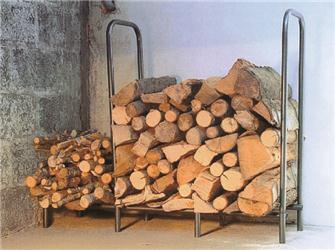 Holzscheitregal für Innen