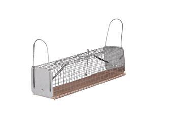 Käfigfalle für Ratten 2 Fallklappen