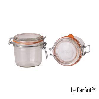 Le Parfait® Einmachgläschen, 350 Gramm, 6 Stück