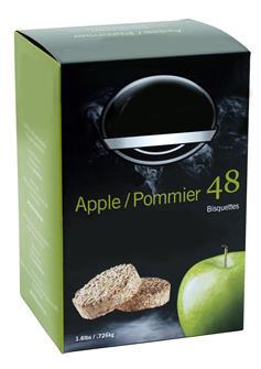 Briketts aus Apfelbaumholz