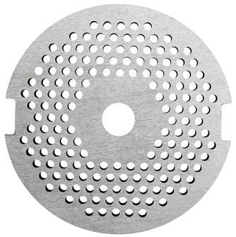 Lochscheibe 2,5mm für Zubehör-Fleischwolf