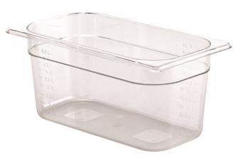 Gastrobehälter BPA-frei, GN1/3, Höhe 15cm, aus Copolyester