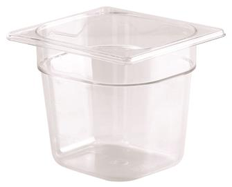 Gastrobehälter BPA-frei, GN1/6, Höhe 15cm, aus Copolyester