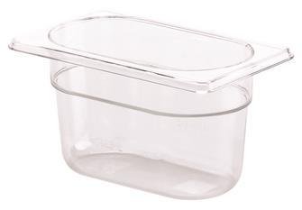 Gastrobehälter BPA-frei, GN1/9, Höhe 10cm, aus Copolyester
