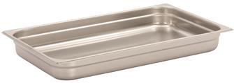 Gastronorm-Behälter Edelstahl, GN1/1, Höhe 6,5cm, EN631