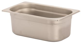 Gastronorm-Behälter Edelstahl, GN1/4, Höhe 10cm, EN631