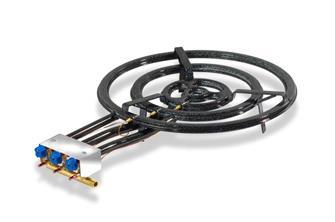 Paella-Brenner für Profis, 70 cm, mit Thermoelementen