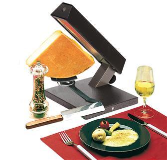 Raclette-Ofen, ¼ Raclette-Käse