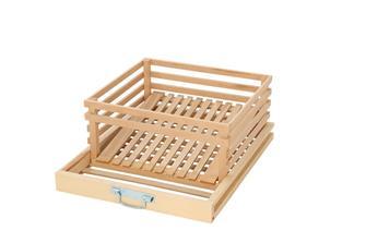 Besondere Schublade für Kartoffeln, für das Obst- und Gemüseregal.