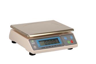 Elektronische Waage aus Edelstahl, 50 kg