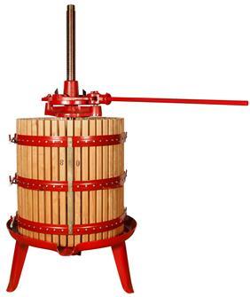 Spindelpresse mit Ratsche 477 Liter