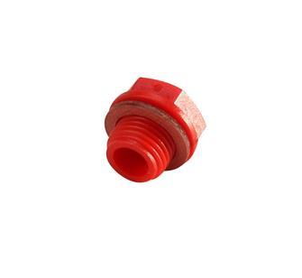 Verschlussstopfen (rot) für Motor Marke Reber