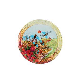 Twist off deckel f r honigglas biene auf pollen 82 mm for Twist off deckel 82