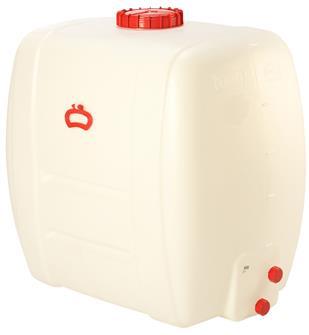 Rechteckiger Lebensmittelbehälter mit einem Fassungsvermögen von 500 Litern.