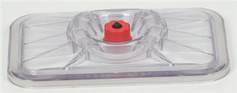 Deckel für Vakuumierung von rechteckigen Gefäßen  20x25 cm