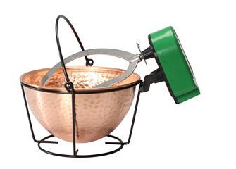 Kupferkessel 3 Liter mit Rührwerk