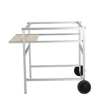 Rollgestell für Pizzaofen 70x90cm