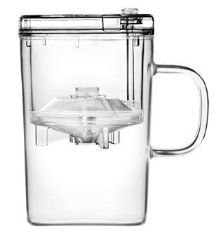 Mug à infusion en verre 430 ml