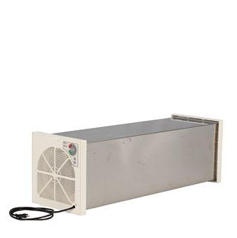 Edelstahl-Einschiebevorrichtung mit 12 Tellern mit Thermostat