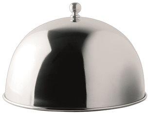 Garhaube für Plancha aus Edelstahl 24,5 cm Durchmesser
