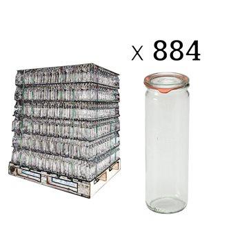Weck Spargelglas 1/2 Liter Palette mit 884 Stück