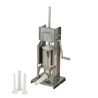 Vertikaler Tom Press Wurstfüller 3 Liter Edelstahl von Reber