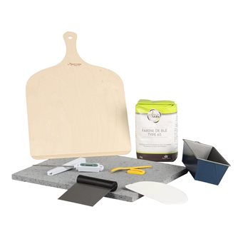 Kit pour faire son pain maison par Tom Press