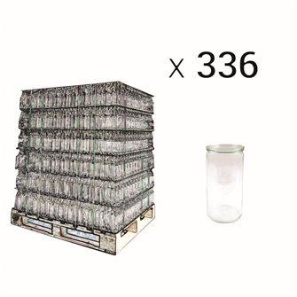 Weck Spargelglas 1,5 Liter Palette mit 336 Stück