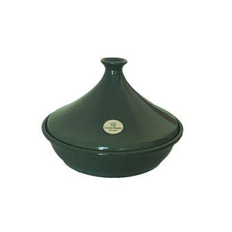 Emile Henry Tajine Keramik Bucht grüne 32 cm für 6 bis 10 Personen