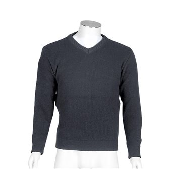 Pull col V homme de travail Bartavel Gers gris XL