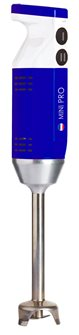 Mixeur plongeant Mini Pro bleu 220 W 13 000 tours 4 embouts fabriqué en France