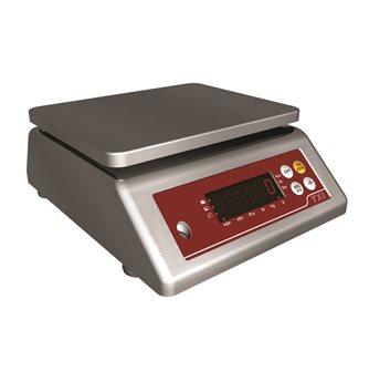 Balance compacte à plateau tout inox de 20 g à 15 kg