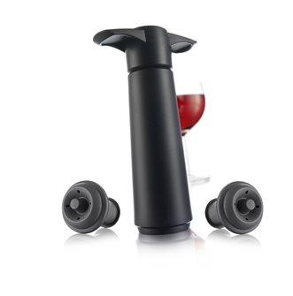 Pompe à vide d´air pour bouteilles et 2 bouchons