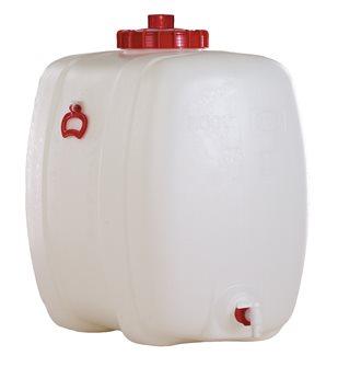 Rechteckiger Lebensmittelbehälter mit einem Fassungsvermögen von 200 Litern.