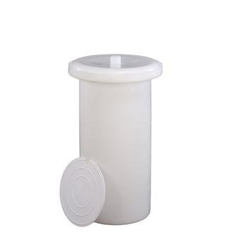 Sauerkrauttopf aus Kunststoff, 50 Liter.